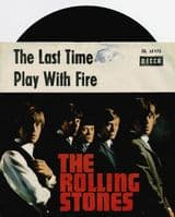 THE ROLLING STONES The Last Time Vinyl Record 7 Inch German Decca 1965